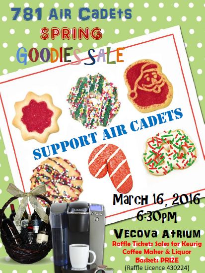 Bake Sale Flyer- 2016