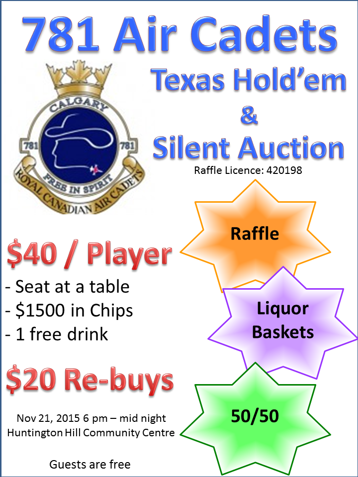 Texas Holdem Flyer
